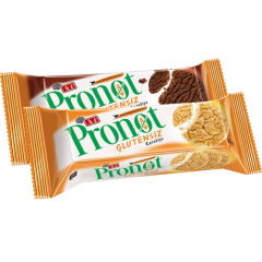12 Paket Pronot Kurabiye (6 Sade + 6 Kakaolu)